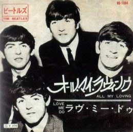 All My Loving single artwork - Japan