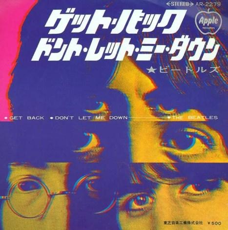 Get Back single artwork - Japan
