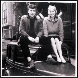 John and Cynthia Lennon, 1950s
