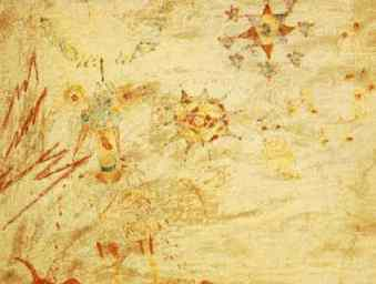 Julian Lennon's painting of Lucy in the sky with diamonds