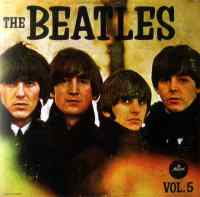 The Beatles Vol. 5 album artwork - Mexico