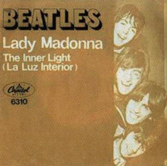 Lady Madonna single artwork - Mexico