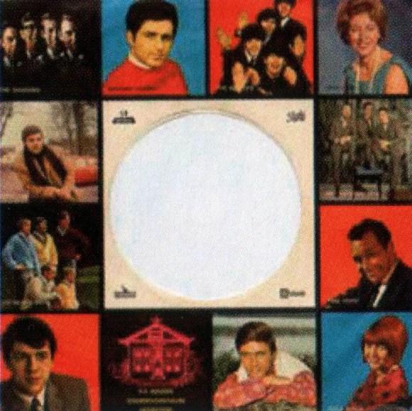 Odeon single sleeve, 1965-66- Netherlands