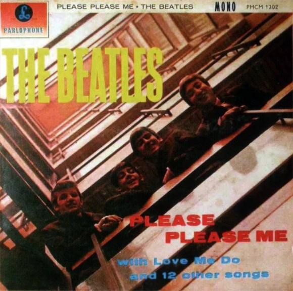 Please Please Me album artwork - New Zealand
