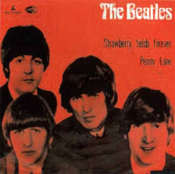 Strawberry Fields Forever/Penny Lane single artwork - Norway