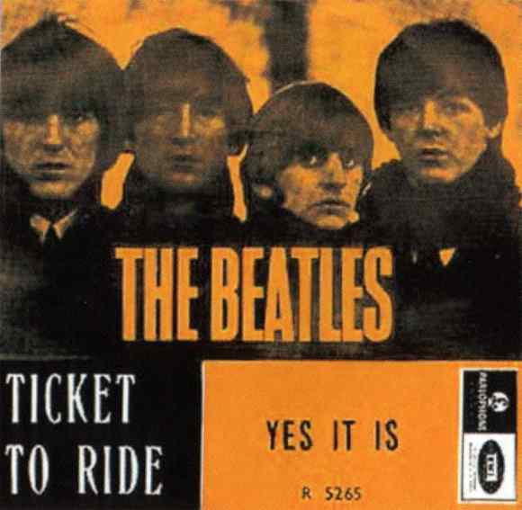 Ticket To Ride single artwork - Norway