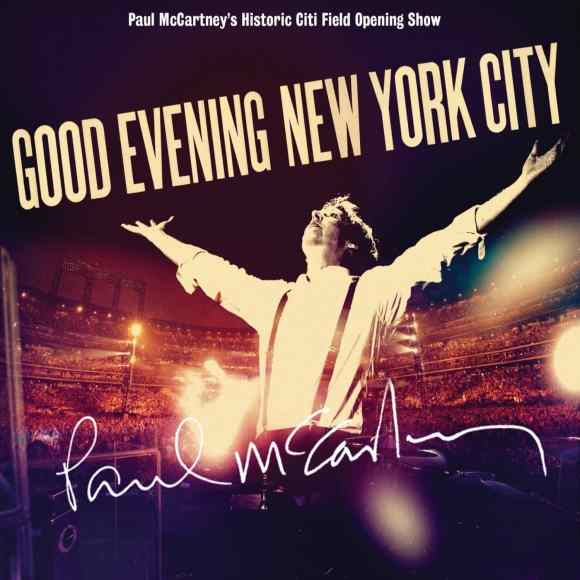 Good Evening New York City album artwork - Paul McCartney