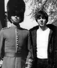 Paul McCartney with Victor Spinetti, 1965