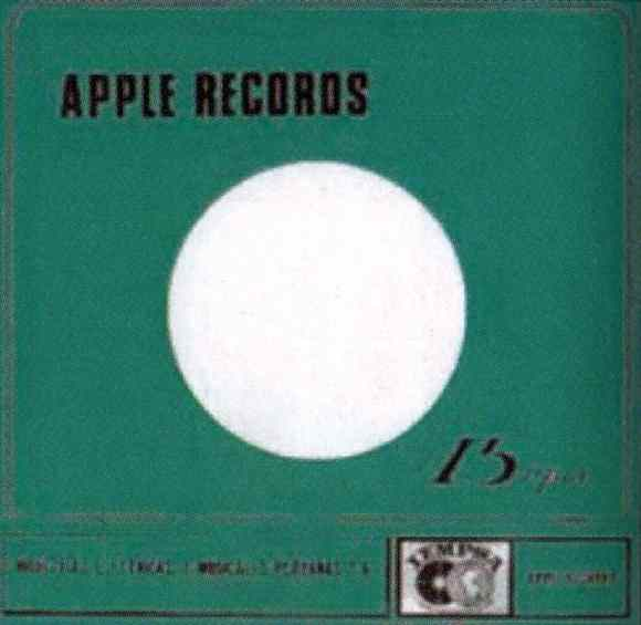 Apple Records single sleeve - Peru