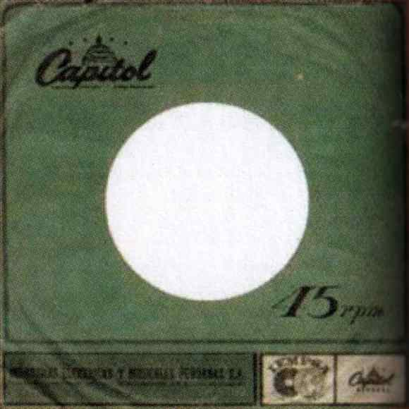 Capitol single sleeve - Peru