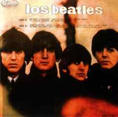 Los Beatles album artwork - Peru