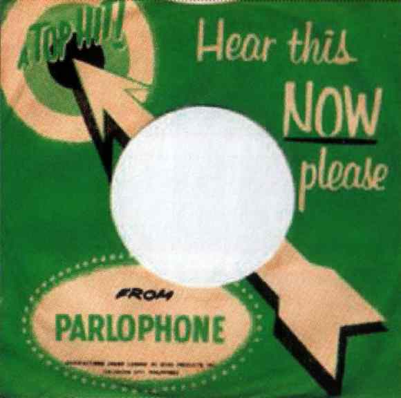 Parlophone single sleeve - Philippines