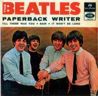 Paperback Writer EP artwork - Portugal