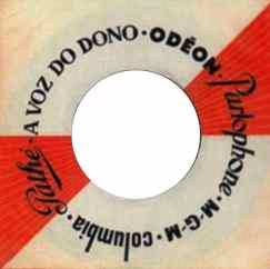 Parlophone single sleeve, 1968 - Portugal