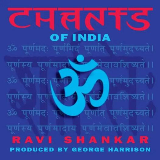 Ravi Shankar's Chants Of India album artwork
