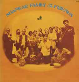 Ravi Shankar Family And Friends album artwork