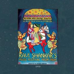 Ravi Shankar's Music Festival From India DVD artwork