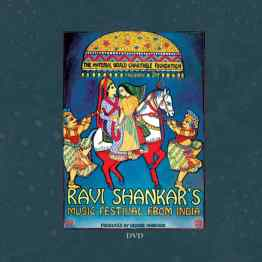 Ravi Shankar's Music Festival From India DVD artwork