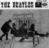 Penny Lane EP artwork - Singapore