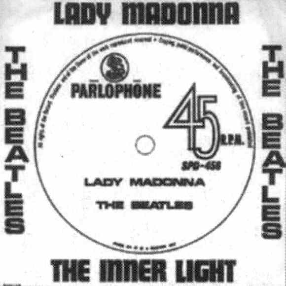 Lady Madonna single artwork - South Africa