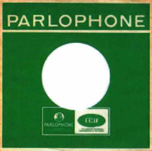Parlophone single sleeve, 1965-70 - South Africa, Venezuela