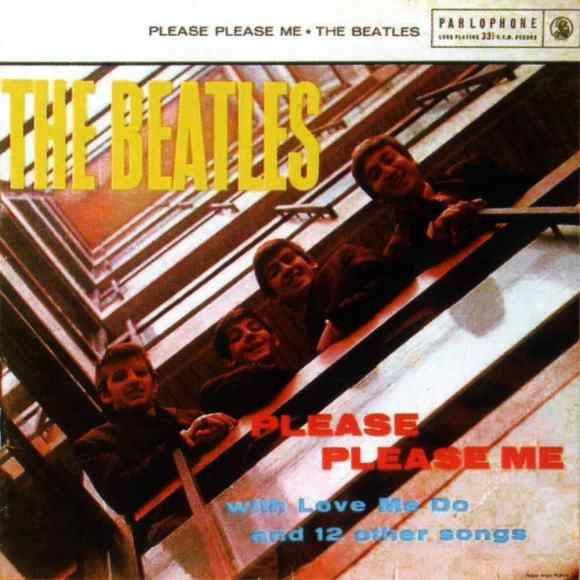 Please Please Me album artwork - South Africa