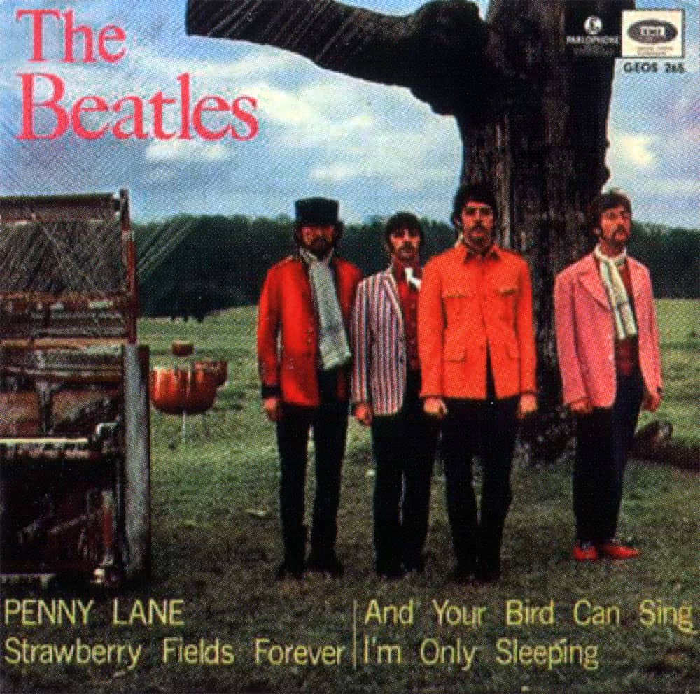 The Beatles Penny Lane Strawberry Fields Forever