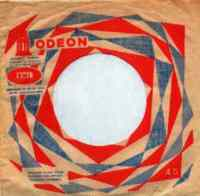 Odeon single sleeve, 1965-66 - Turkey