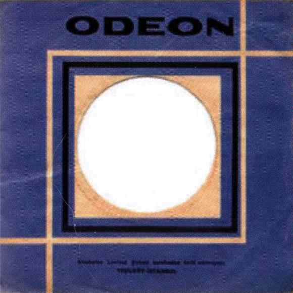 Odeon single sleeve, 1967-68 - Turkey