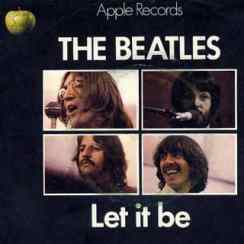 Let It Be single artwork - United Kingdom