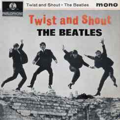 Twist And Shout EP artwork - United Kingdom