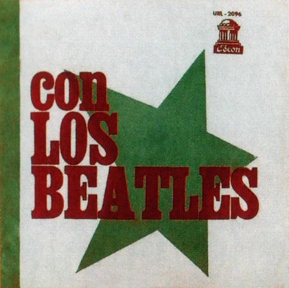 Con Los Beatles (With The Beatles) album artwork - Uruguay