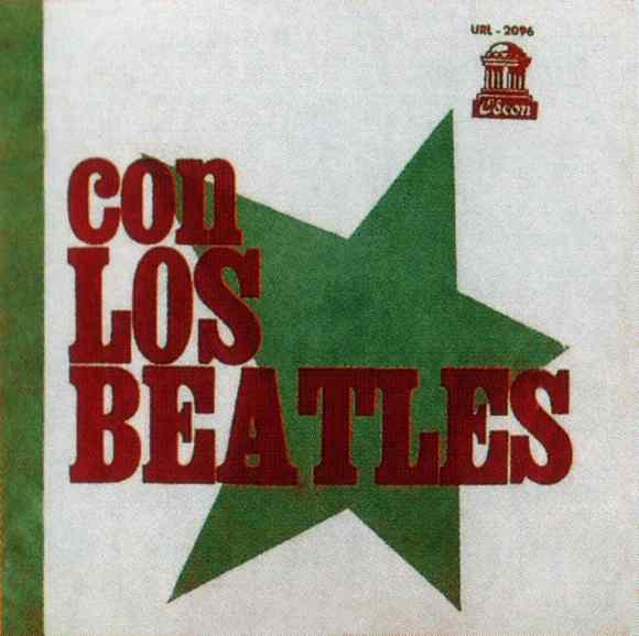Con Los Beatles (With The Beatles) album artwork - Uruguay
