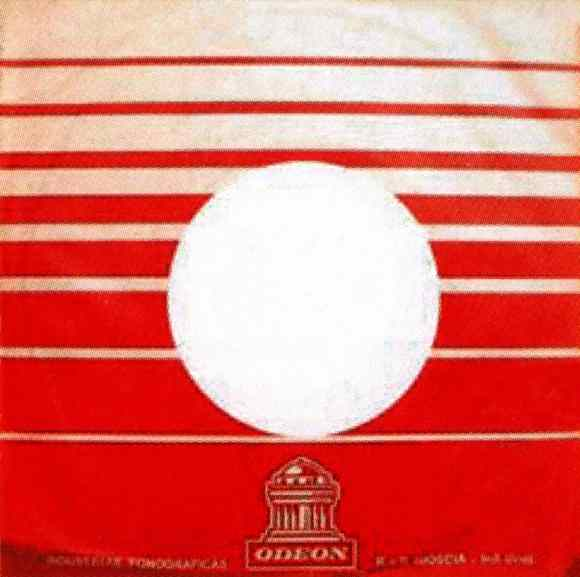 Odeon single sleeve, 1968-69 - Uruguay
