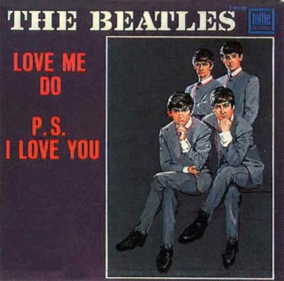 Love Me Do single artwork - USA