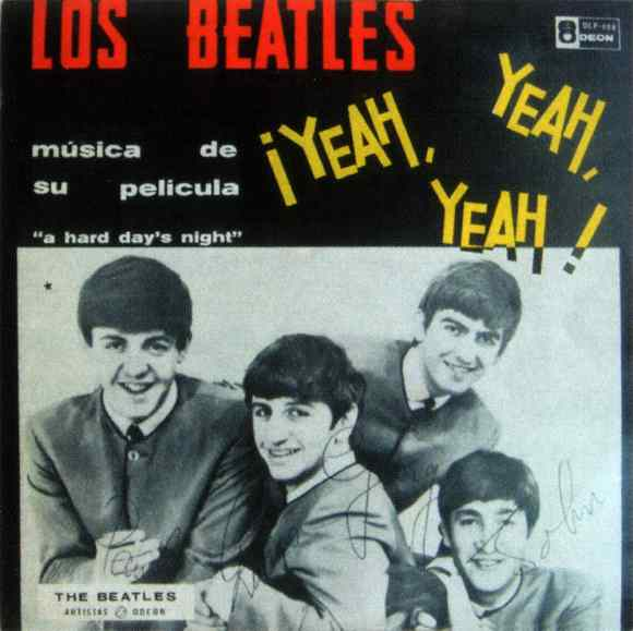 Yeah Yeah Yeah album - Venezuela