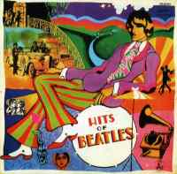 Hits Of Beatles album - Yugoslavia