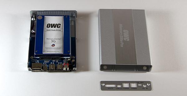 SSD in external case