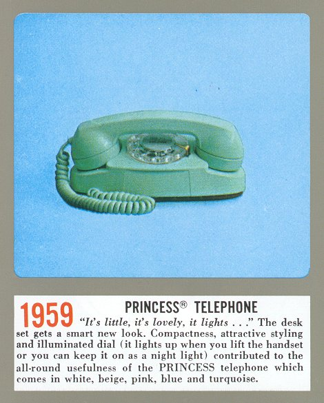 Western Electric Products - Telephones - Princess