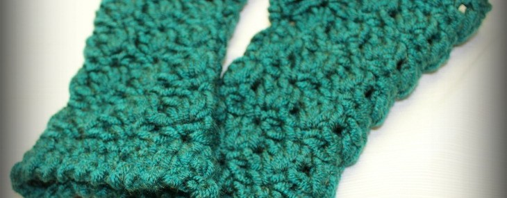 Amazing Grace Fingerless Gloves… Free Crochet Pattern!