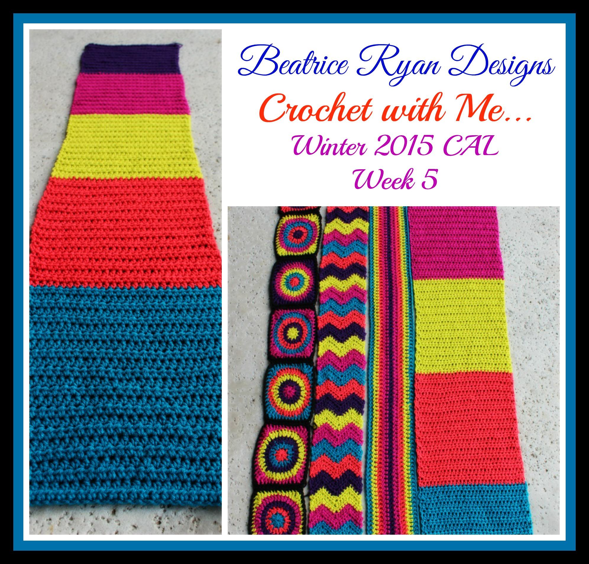 Crochet With Me.. Winter 2015 CAL!! Week 5