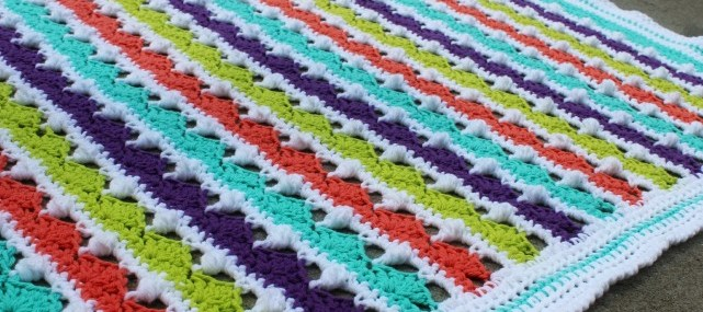 Summer Day's Baby Blanket