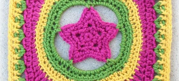 Granny's Shining Star Square