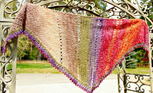 Amazing Grace Spring Crochet Wrap full