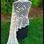 Chiffon Soiree Shawl… Free Crochet Pattern!!