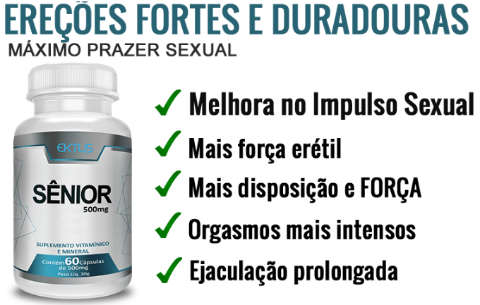 Beneficios do estimulante senior