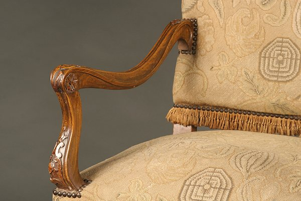 19th Century Regence Style Arm Chair