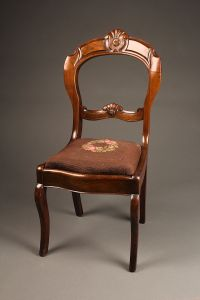 Antique Victorian side chair.