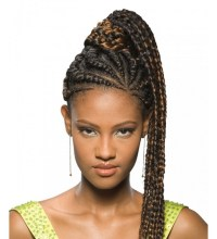 51 Latest Ghana Braids Hairstyles with Pictures ...