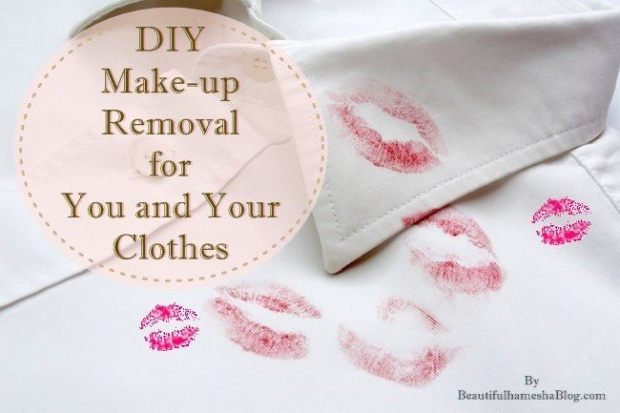 DIY Make-up Removal for You and Your Clothes
